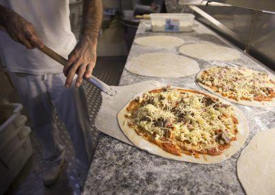 Fent la pizza